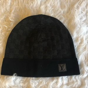 Louis Vuitton Damier Graphite Hat